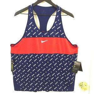 NWT Ladies XL Nike Americana Racer Back Tank